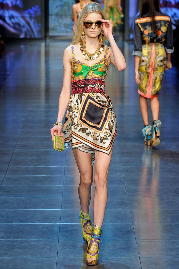 D&G2012春夏时装秀
