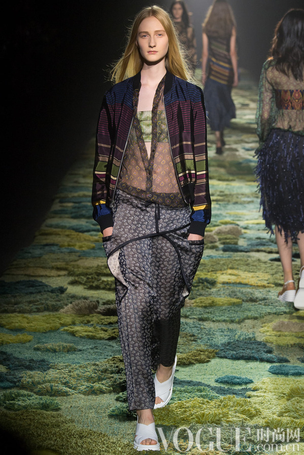 Dries Van Noten2015春夏时装秀