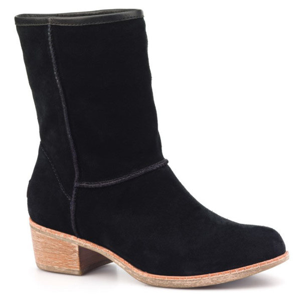 UGG Australia黑色休闲薄靴