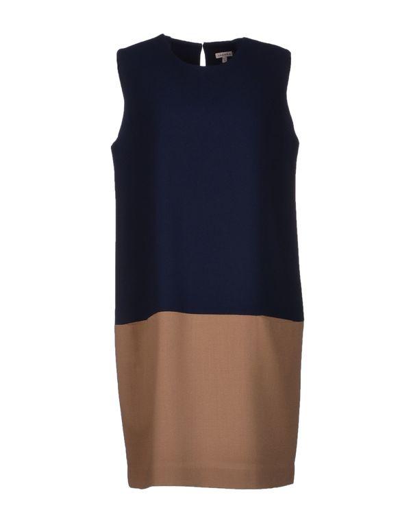 驼色 P.A.R.O.S.H. 短款连衣裙