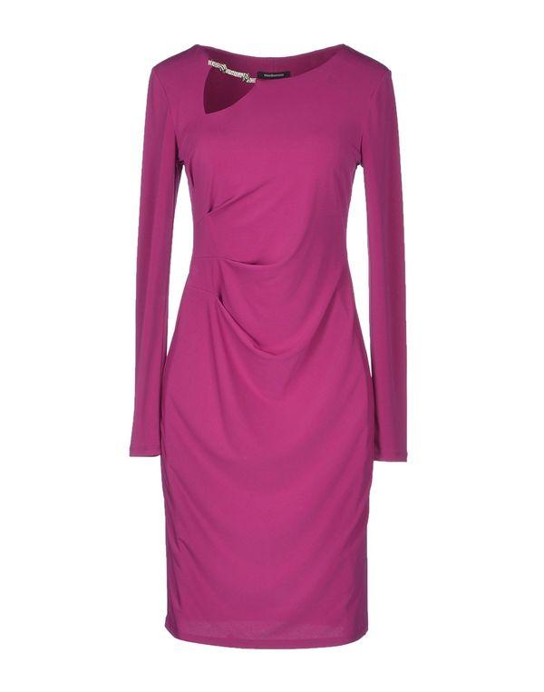 浅紫色 ROCCOBAROCCO 短款连衣裙