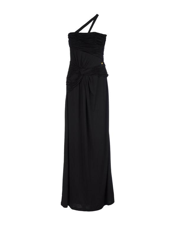 黑色 CLASS ROBERTO CAVALLI 长款连衣裙