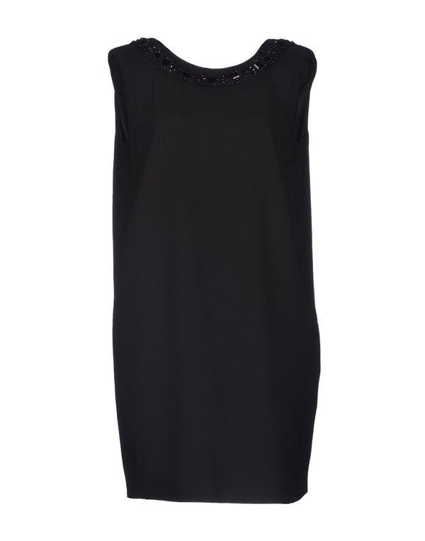 黑色 SEMI-COUTURE 短款连衣裙