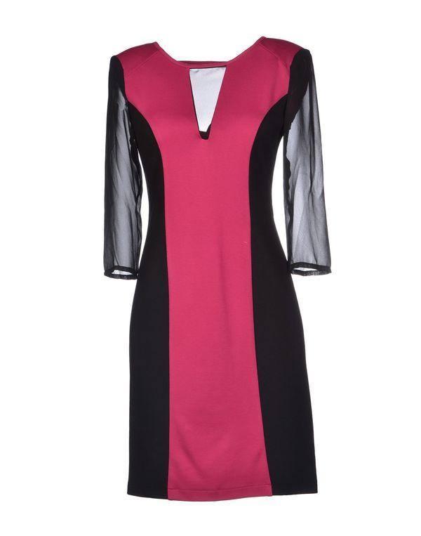 石榴红 ANNARITA N. 短款连衣裙