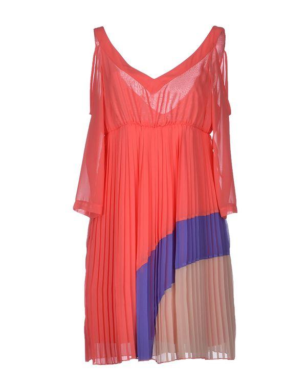 珊瑚红 ANNARITA N. 短款连衣裙