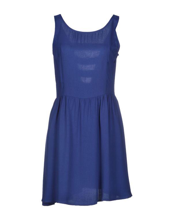 蓝色 ONLY 短款连衣裙