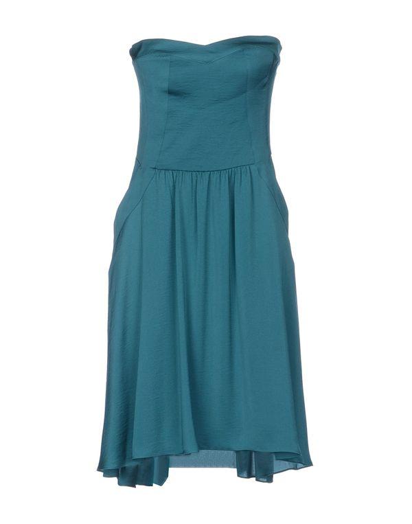 孔雀绿 REBECCA TAYLOR 短款连衣裙