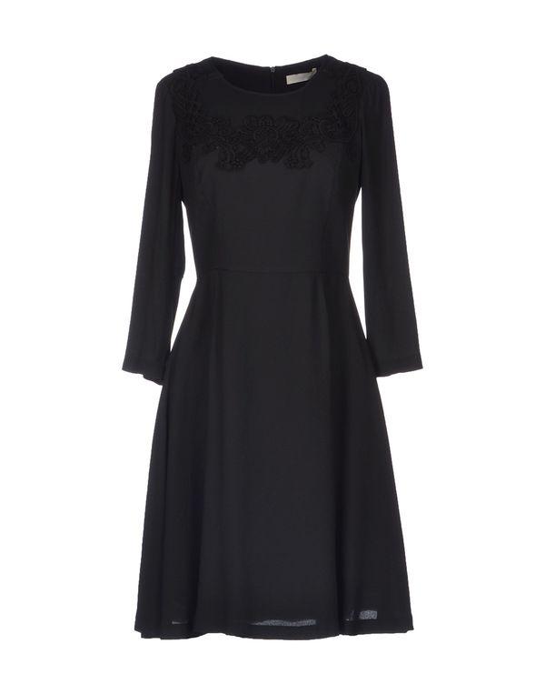 黑色 SCERVINO STREET 短款连衣裙