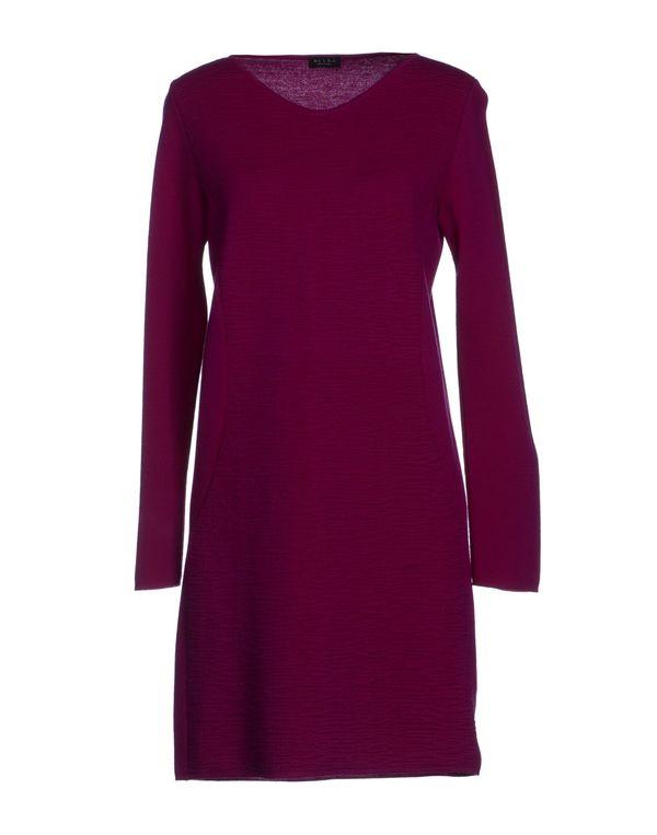 紫色 NEERA 短款连衣裙