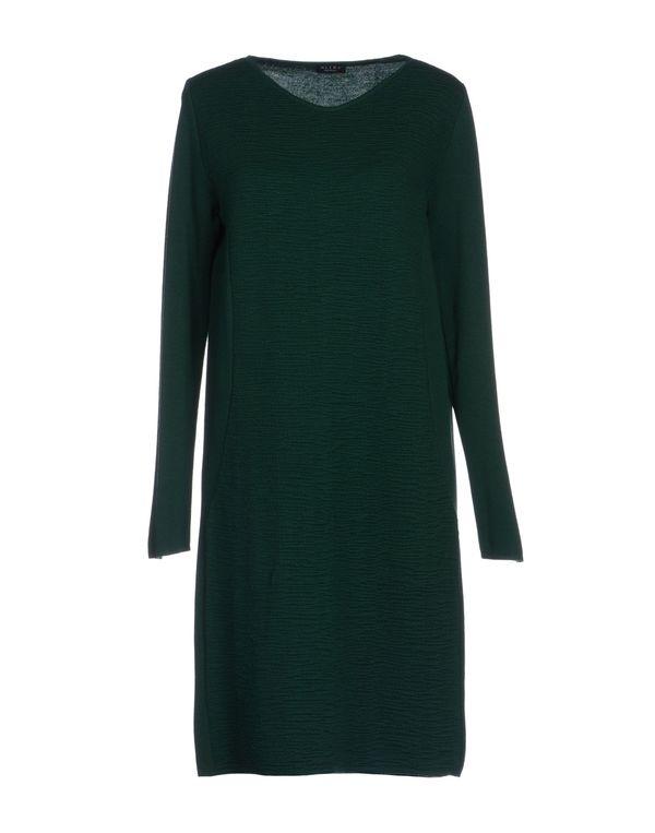 深绿色 NEERA 短款连衣裙