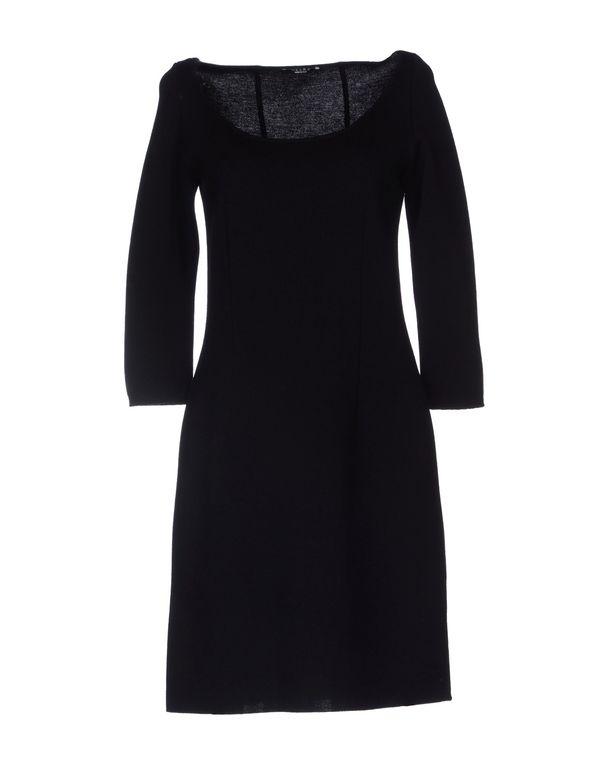 黑色 NEERA 短款连衣裙