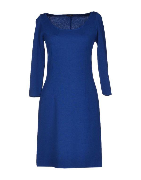 蓝色 NEERA 短款连衣裙
