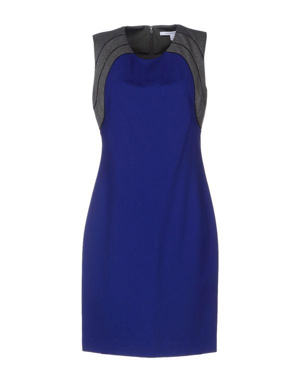 蓝色 DIANE VON FURSTENBERG 短款连衣裙