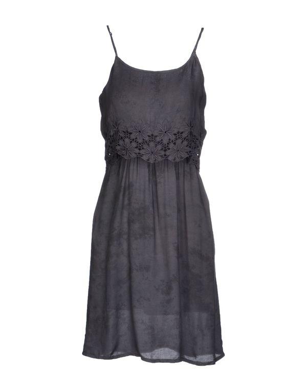铅灰色 ONLY 短款连衣裙