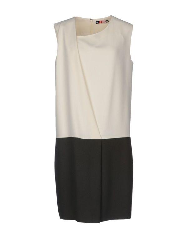 象牙白 MSGM 短款连衣裙
