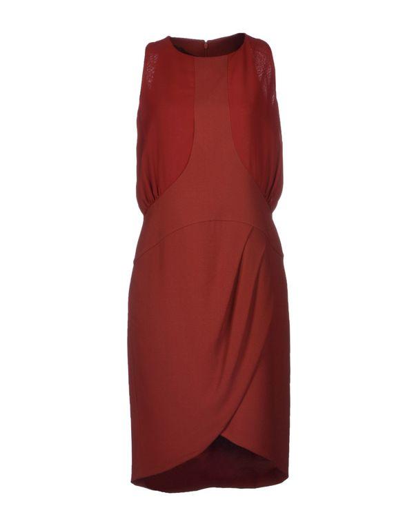 砖红 PATRIZIA PEPE SERA 短款连衣裙