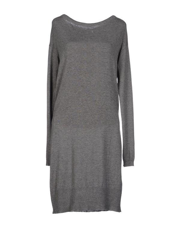 灰色 PATRIZIA PEPE 及膝连衣裙