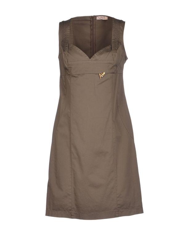 铅灰色 ANNARITA N. 短款连衣裙
