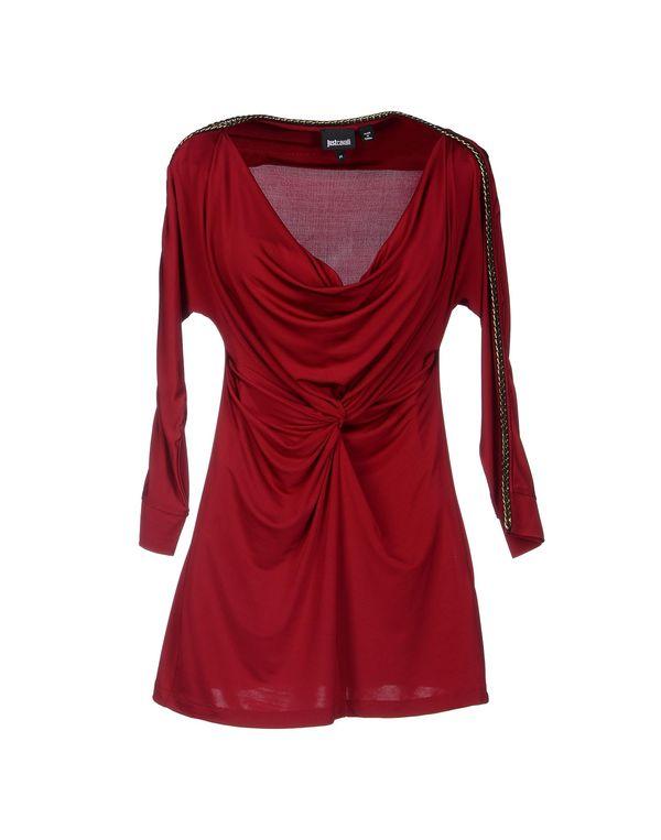 波尔多红 JUST CAVALLI T-shirt