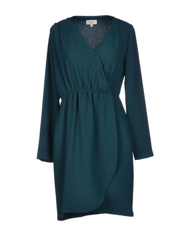 孔雀绿 HOSS INTROPIA 短款连衣裙