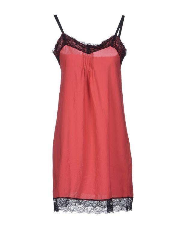珊瑚红 LIVIANA CONTI 短款连衣裙