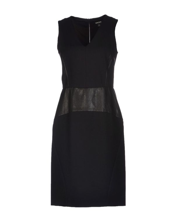 黑色 DKNY 短款连衣裙