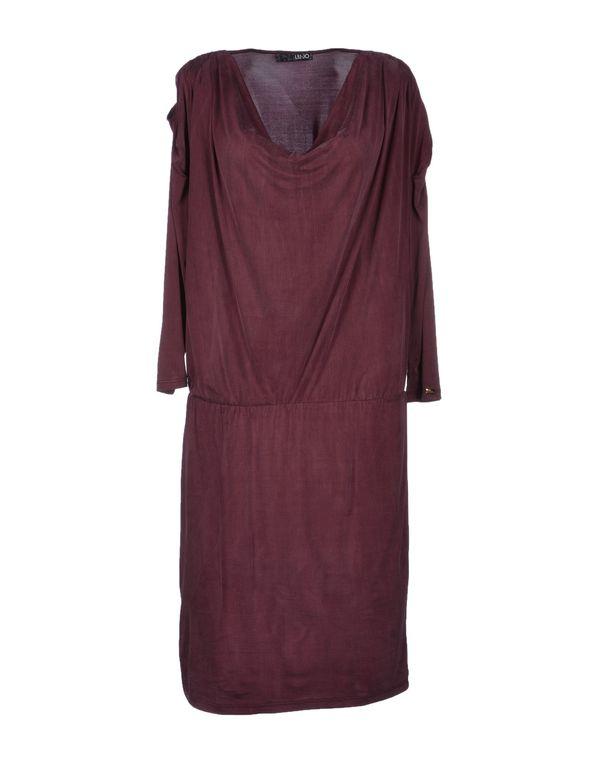 紫色 LIU •JO 及膝连衣裙