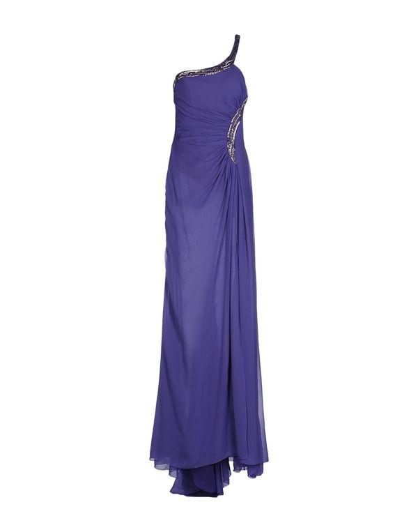 紫色 ROBERTO CAVALLI 长款连衣裙