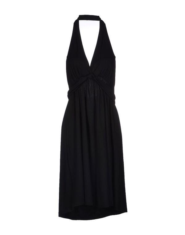黑色 DKNY 中长款连衣裙