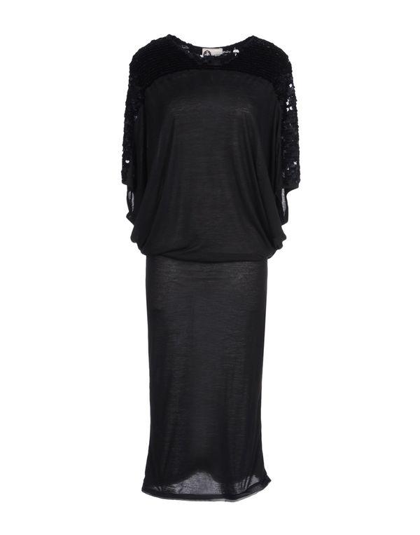 黑色 LANVIN 长款连衣裙