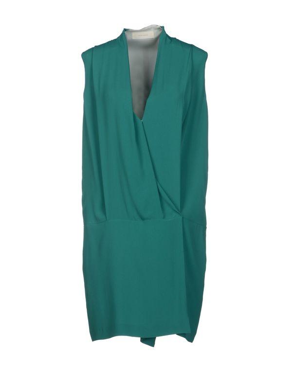 祖母绿 MAURO GRIFONI 短款连衣裙