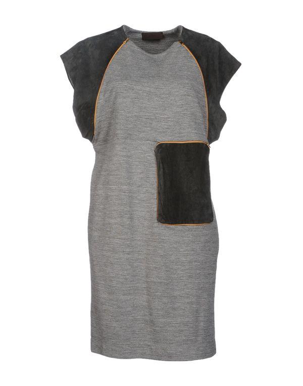 灰色 JO NO FUI 短款连衣裙