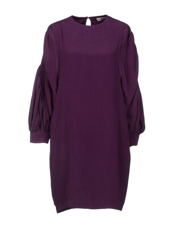 紫色 SEE BY CHLOÉ 短款连衣裙