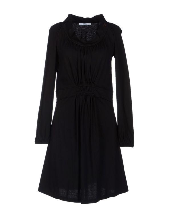 黑色 LIU •JO JEANS 短款连衣裙