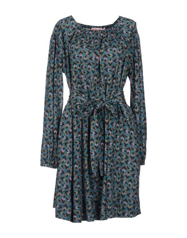 孔雀绿 SEE BY CHLOÉ 短款连衣裙