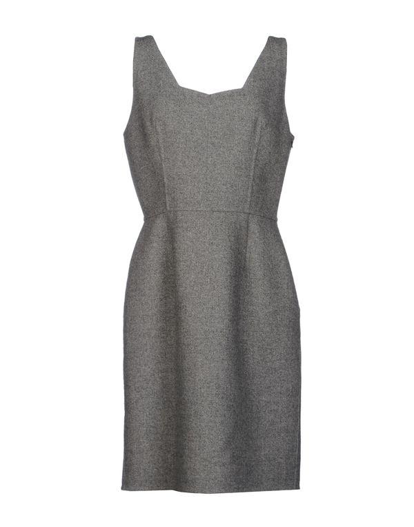 灰色 DIOR 短款连衣裙
