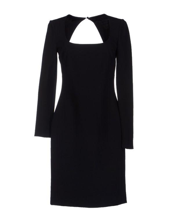 黑色 EMILIO PUCCI 短款连衣裙