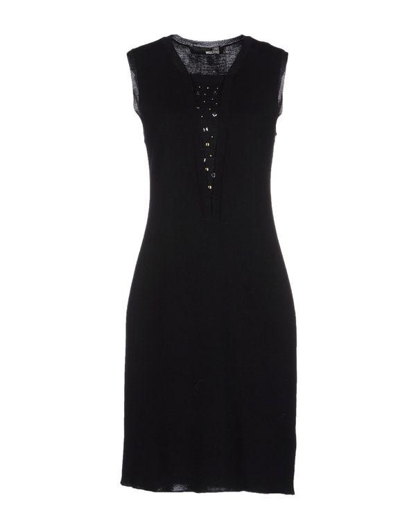 黑色 LOVE MOSCHINO 短款连衣裙
