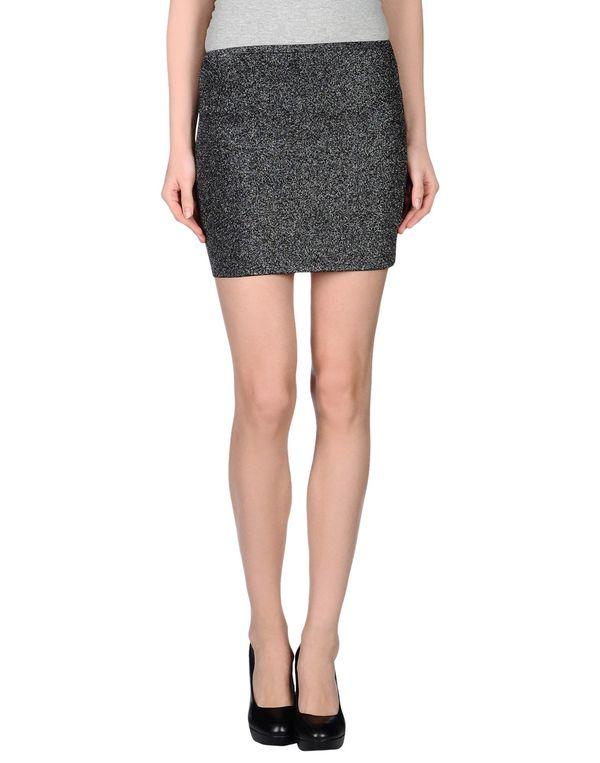 黑色 M MISSONI 超短裙