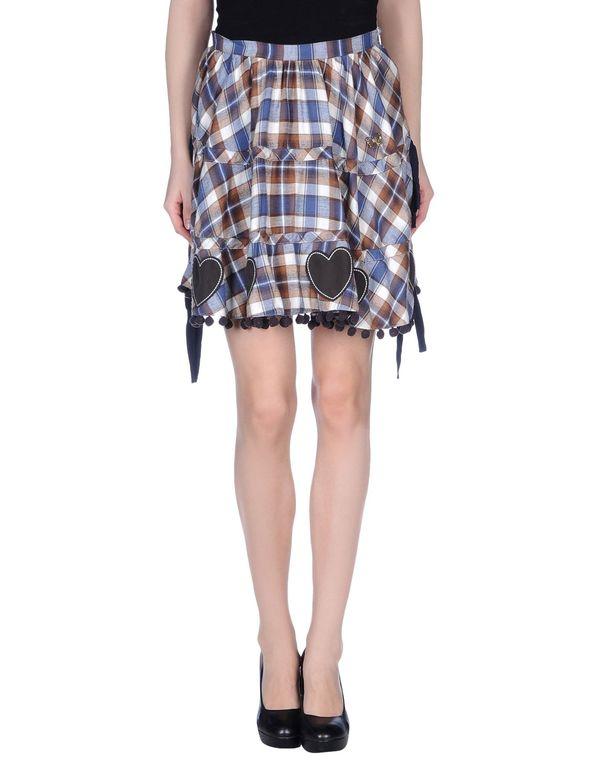 棕色 ATELIER FIXDESIGN 超短裙