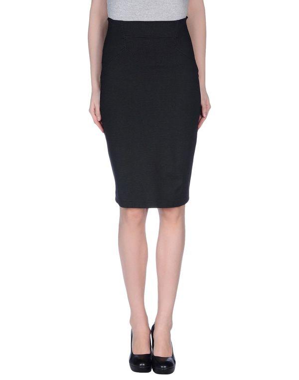 黑色 PF PAOLA FRANI 及膝半裙