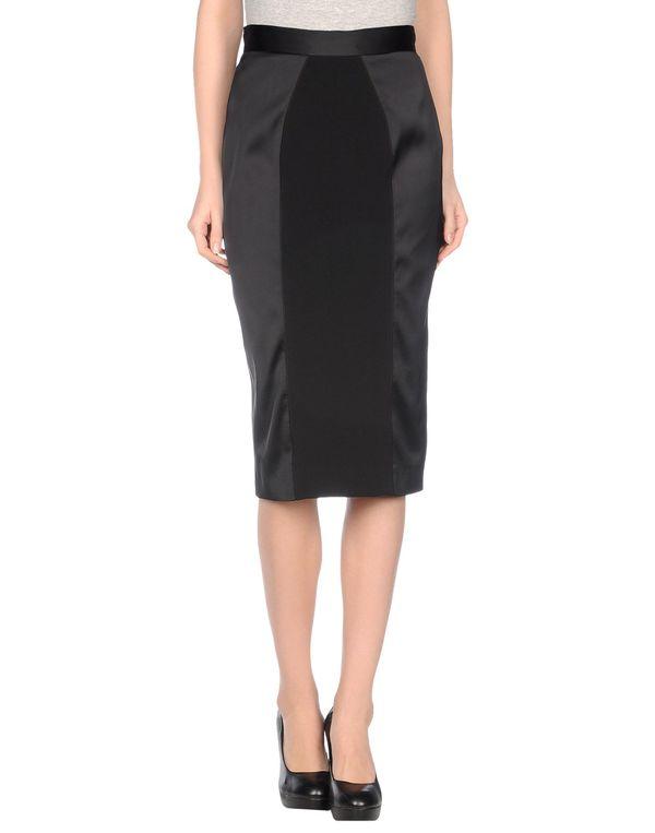 黑色 MARCO BOLOGNA 半长裙