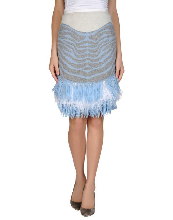 灰色 SACAI 及膝半裙