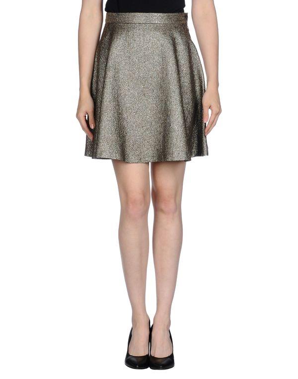 灰色 MAURO GRIFONI 及膝半裙