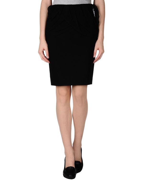 黑色 JUST CAVALLI 及膝半裙
