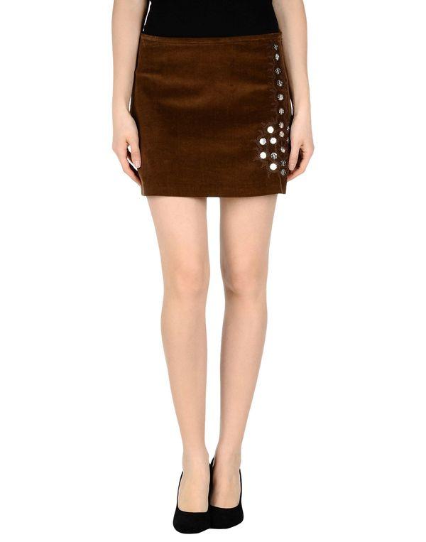 棕色 P.A.R.O.S.H. 超短裙