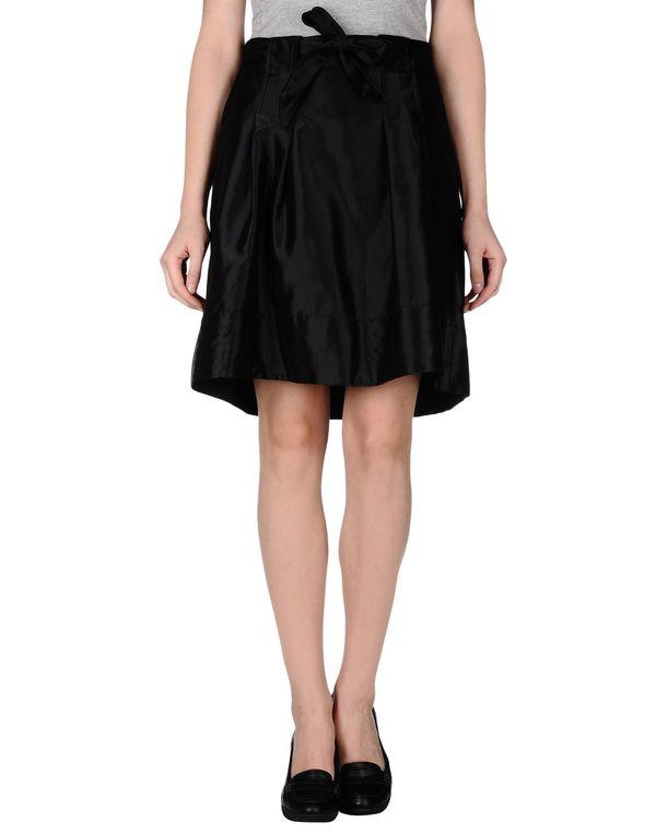 黑色 LALTRAMODA 及膝半裙