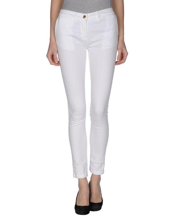 白色 CLASS ROBERTO CAVALLI 裤装
