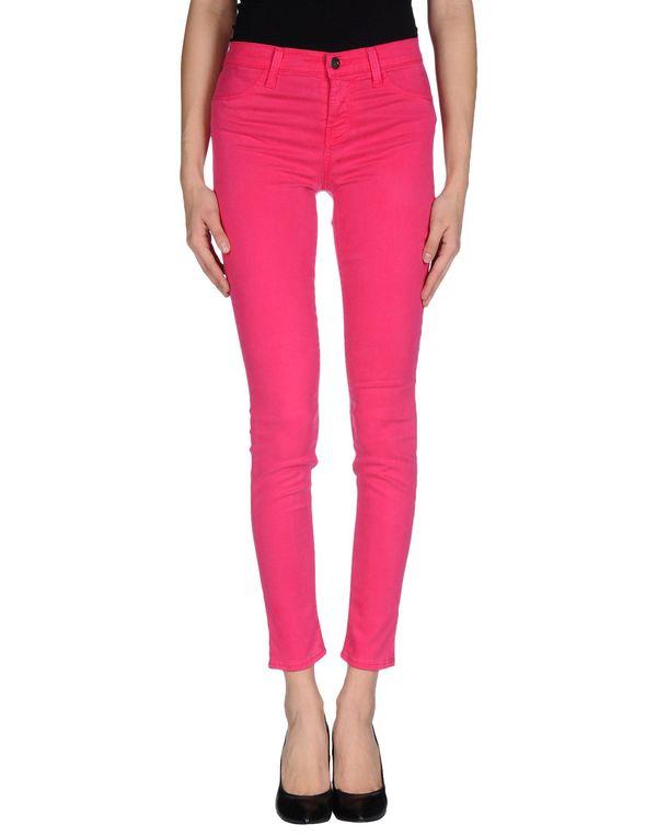 玫红色 J BRAND 裤装