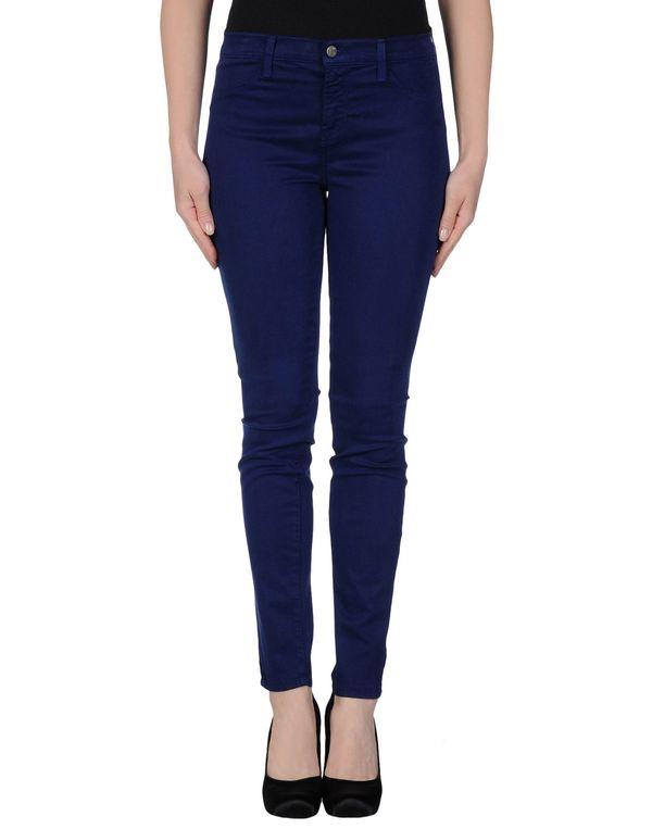 蓝色 J BRAND 裤装